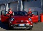 Raikkonen e Vettel tester d'eccezione della Fiat 500X a Fiorano