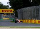 Il Mondiale di F1 parte con la pista bagnata