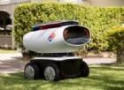 DRU, il robot che porta la pizza a domicilio