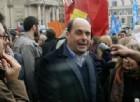 Roma, gli addetti alle pulizie protestano sui tetti del CTO e chiedono aiuto a Zingaretti