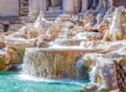 Attacchi Bruxelles, Campidoglio e Fontana di Trevi illuminate