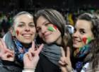 1 a 1 tra Italia e Spagna, lo spettacolo è sugli spalti