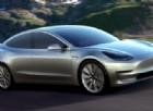 Tesla Model 3, l'elettrica del popolo secondo Elon Musk
