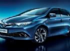 Toyota Auris, novità tecniche e cromatiche per il Model Year 2016