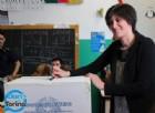 Chiara Appendino al voto alle ore 9 in via Vidua