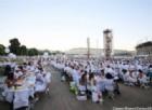 Cena in Bianco edizione 2016, in 13mila in piazza d'Armi in «total white»