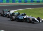 Hamilton regola subito Rosberg, poi le Ferrari