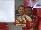 I tempi del venerdì rincuorano Sebastian Vettel: «Il giro è ok»