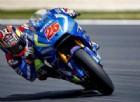 Valentino Rossi insegue il suo futuro compagno Maverick Viñales