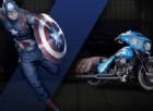 La Street Glide di Captain America