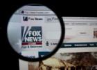 L'home page del sito di Fox News