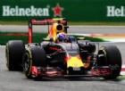 La Red Bull in azione a Monza