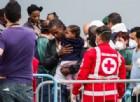 Sbarchi di migranti nel Sud Italia.