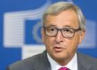 Il presidente della Commissione europea Jean Claude Juncker.