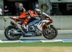 Aprilia torna in Superbike con il team ufficiale