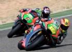 Aprilia sempre più vicina ai primi: due moto nella top ten