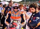 Marc Marquez sulla griglia di partenza di Motegi