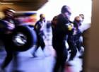 I meccanici nel momento del pit stop
