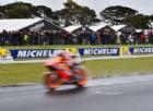 Anche Marc Marquez affonda nella pioggia: «Brutta giornata»