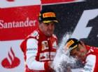 Fernando Alonso e Felipe Massa, incidente tra ex ferraristi