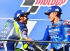 Valentino Rossi ha già preso le misure del suo futuro compagno Viñales