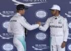 Hamilton umilia Rosberg in qualifica: «La pole? Il mio giro peggiore»