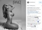 La foto postata da Anastacia su Instagram
