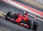 La Ferrari in pista con le gomme del prossimo anno