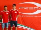 Charles Leclerc e Antonio Fuoco, due giovani del vivaio Ferrari in GP2