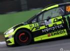 Valentino Rossi e i suoi amici scendono in pista al Rally di Monza