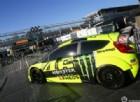 Valentino Rossi alla partenza del Monza Rally Show