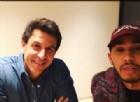 Toto Wolff e Lewis Hamilton insieme nel video pubblicato dal pilota