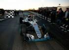 Il giro d'onore di Nico Rosberg a Sindelfingen