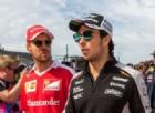 Un avversario in più per la Ferrari nel 2017: è Sergio Perez