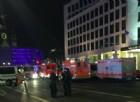 Il luogo dell'attentato a Berlino
