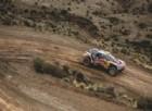 Stephane Peterhansel in azione sulla sua Peugeot