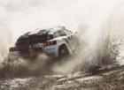 Sebastien Loeb in azione sulla sua Peugeot