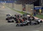 La partenza del Gran Premio del Bahrein 2016
