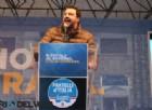 Salvini in piazza: «Qui c'è l'Italia che vuole tornare a votare e difendere la sua identità»