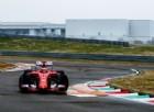 Kimi Raikkonen in azione sulla SF15-T oggi a Fiorano