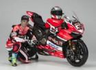 Marco Melandri con la sua nuova Ducati Panigale R 2017