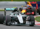 Mercedes e Red Bull in azione in pista
