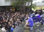 Maverick Vinales sul palco in Thailandia