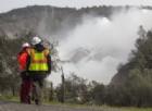 Spettacolare e drammatico: la diga di Oroville in California in procinto di esondare