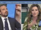 Epico scontro sulle tasse all'Aria che tira su La7 fra la deputata di Forza Italia, Daniela Santanchè e il consigliere economico della presidenza del Consiglio, Luigi Marattin, del Partito democratico