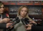 La leader di Fratelli d'Italia, Giorgia Meloni, ha chiesto di andare al più presto al voto