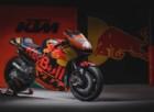 La Ktm Rc16 con cui la casa austriaca correrà la sua prima stagione in MotoGP
