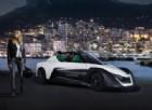 Margot Robbie prova la Nissan Blade Glider a Montecarlo