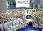 Fiat Panda da record: nasce la Natural Power numero 300 mila