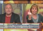 Alessandra Mussolini a Dalla vostra parte su Rete4 su tutte le furie contro il blogger del Movimento 5 stelle, Daniele Martinelli